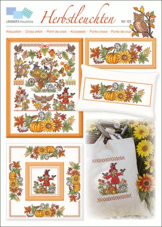 Zählvorlagen, Herbst, Herbstleuchten