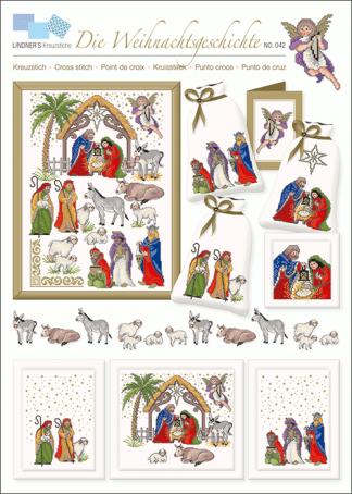 Zählvorlagen, Weihnachten, Die Weihnachtsgeschichte
