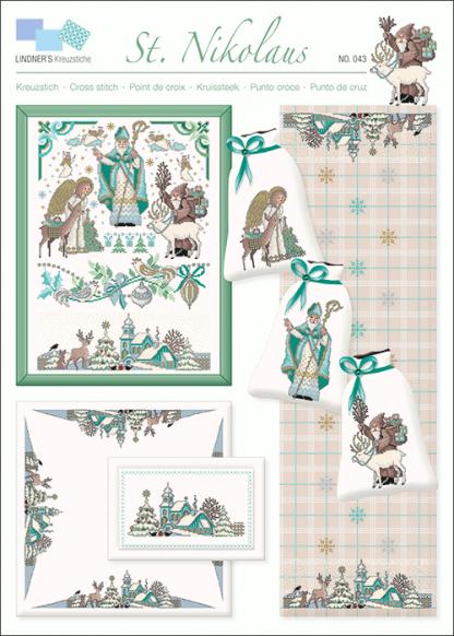 Zählvorlagen, Weihnachten, St. Nikolaus