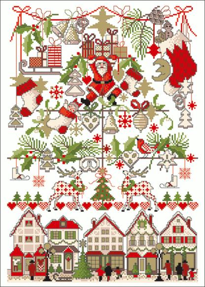 Zählvorlagen, Weihnachten, Weihnachtsmarkt
