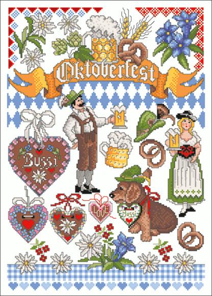 Zählvorlagen, Traditionell, Oktoberfest