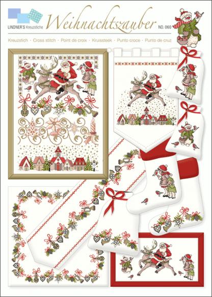 Zählvorlagen, Weihnachten, Weihnachtszauber