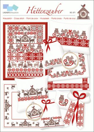 Zählvorlagen, Weihnachten, Hüttenzauber
