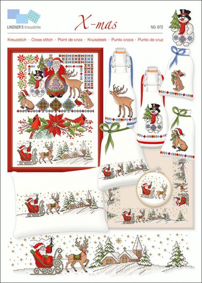 Zählvorlagen, Weihnachten, X-mas