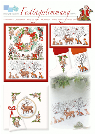 Zählvorlagen, Weihnachten, Festtagsstimmung