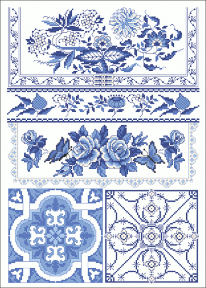 Zählvorlagen, Traditionell, Blaue Stunde