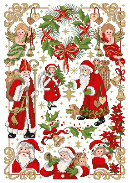 Zählvorlagen, Weihnachten, Es weihnachtet