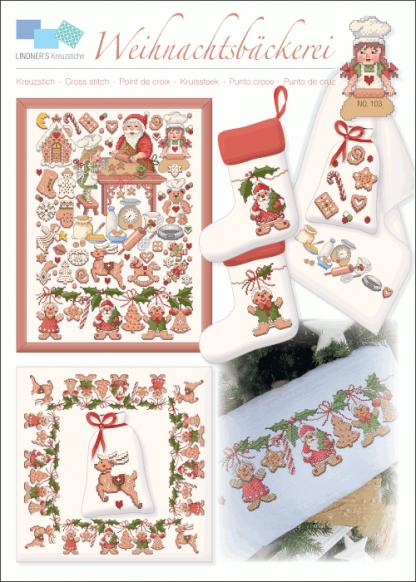 Zählvorlagen, Weihnachten, Weihnachtsbäckerei