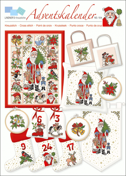 Zählvorlagen, Weihnachten, Adventskalender