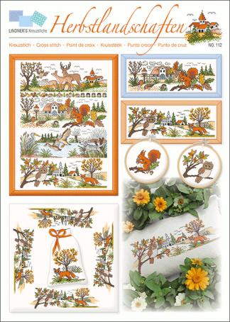 Zählvorlagen, Herbst, Herbstlandschaften