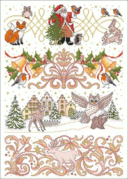 Zählvorlagen, Weihnachten, Glanzlichter
