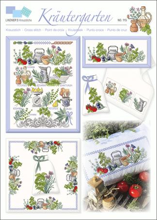 Zählvorlagen, Küche, Kräutergarten