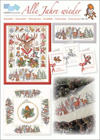 Zählvorlagen, Weihnachten, Alle Jahre wieder