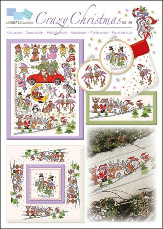 Zählvorlagen, Weihnachten, Crazy Christmas