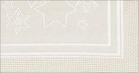 Zählzonen, Tischdecken, Tischdecke Sterne